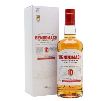 Whisky BENROMACH 10 ans 43%